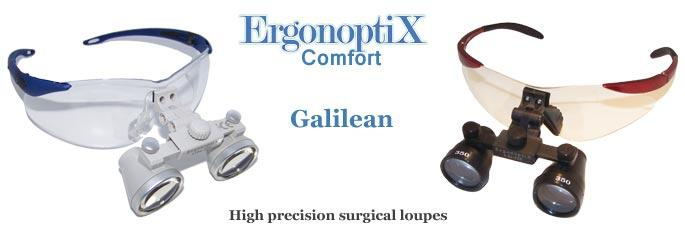 ErgonoptiX Comfort Galilean - dental loupes -1