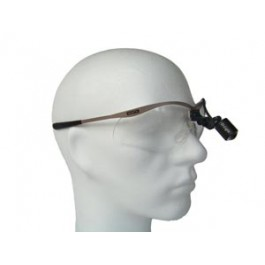 D-Light-micro-stand-alone-surgery-headlamp-on-metal-safety-frames