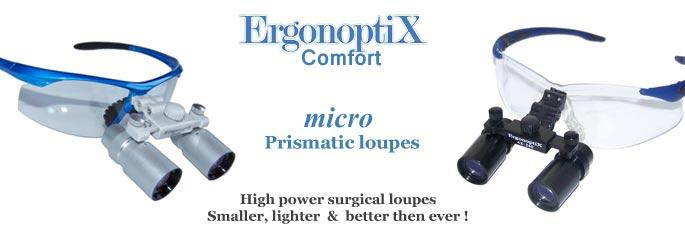 ErgonoptiX Comfort micro Prismatic- medical loupes -1