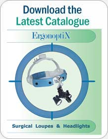 ErgonoptiX Comfort medical loupes and headlamps - Latest Catalogue