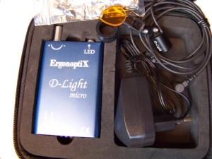 D-Light Duo - surgical Headlamp - full set